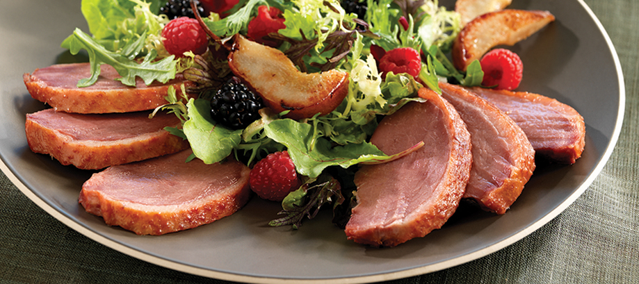 Nueske's Applewood Smoked Duck Breast Salad