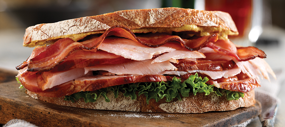 Nueske's Applewood Smoked Turkey & Bacon Club Sandwich